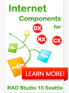 Internet Components - Best Offer for RAD Studio XE8 Developers